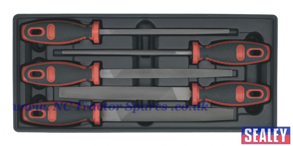 Tool Tray with Engineers File Set 5pc